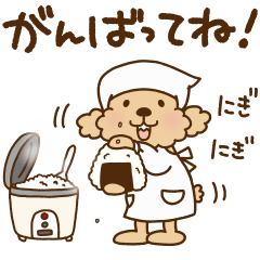 [LINEスタンプ] トイプーのぷう太郎 毎日使える編 (1)