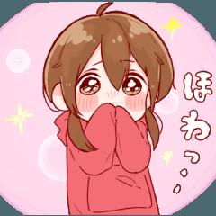 女の子のスタンプ♡8