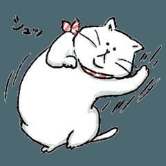 猫の毎日使えるスタンプ
