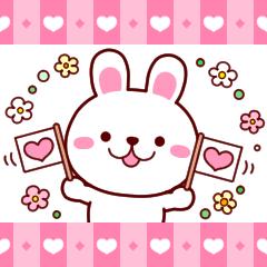 うさちぃ4【返信便利セット】ver.2
