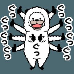 笑うアルパカ5【毎日】