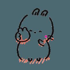 ズンドウウサギちゃん