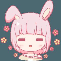 可愛いウサギ-様々なかわいい表現
