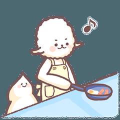 [LINEスタンプ] ひつじのずーちー2 (1)