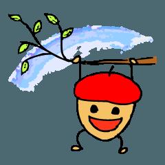 赤いベレー帽の、ドン・ぐりお