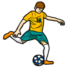 スポーツスタンプ(フットボール)