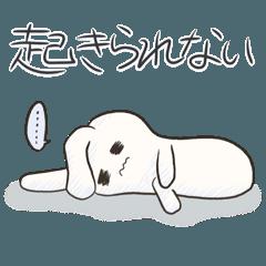 体調ふりょウサギ☆.。:*・