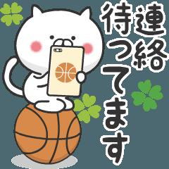 ねこバスケ4【日常+連絡】