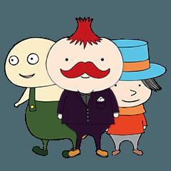 紳士ととある街の仲間たち1(日本語)