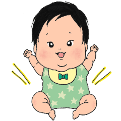 むちむち赤ちゃん生後6ヶ月