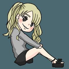 バーレスク東京Rioちゃんスタンプ Vol.01