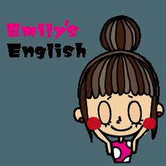 My Emily's スタンプ-英語Ver.-