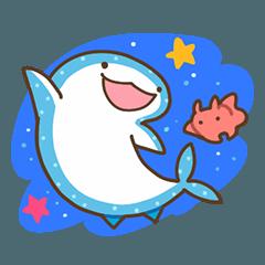 ジンベエザメとメンダコ2