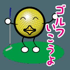 最恐ゴルフ部のスタンプ3