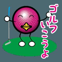 最恐ゴルフ部のスタンプ2