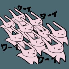 軽やかに生きるウサギと仲間たち