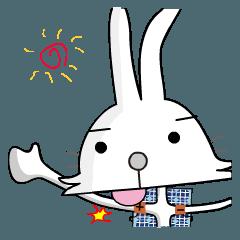 太陽光モジュールのウサギ