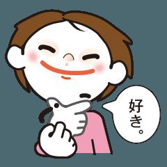 [LINEスタンプ] 手話スタンプ・バージョン2 (1)
