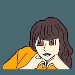 ゆきみちゃんのスタンプ 2