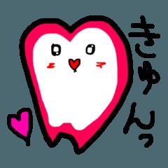 乳歯くん。