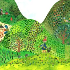 マスダカルシ絵本「ぼくここにいるよ」