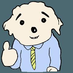 サラリーマン犬 五郎八くん