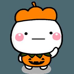 大切な毎日に、無難なスタンプです。秋