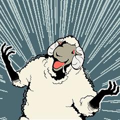 [LINEスタンプ] 【キャサリン】クズ羊たちの叫びスタンプの画像(メイン)