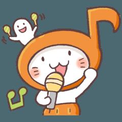 かぼちゃパンツの猫 2018