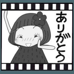 ひま子ちゃん156フィルムの中から挨拶編