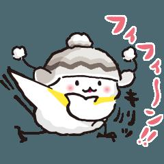 オシャレな冬鳥さん(改)
