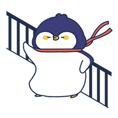 がらがらがたん赤ちゃんペンギンポール