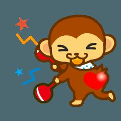 豆猿「サル太」の動くな日常