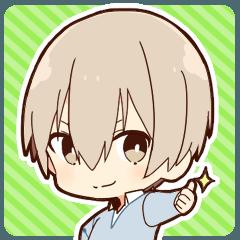 [LINEスタンプ] 毒舌男子-ミニver.-