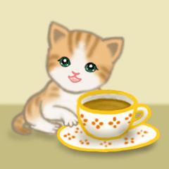[LINEスタンプ] ちび猫 よく使う言葉