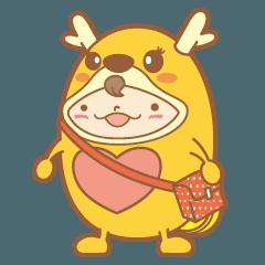かりんちゃん(鈴鹿社協キャラクター)