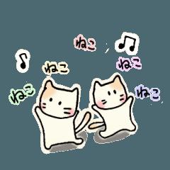 ねこネコさん【ゆるい・手描き】