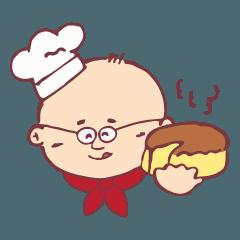てつおじさんのチーズケーキ