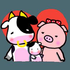 ピロさん★仲良し家族