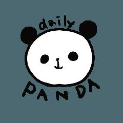 日常的パンダ