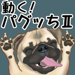 [LINEスタンプ] 動くヨ! パグッちⅡ