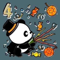 【大きめ文字】パンダの秋 Vol.4