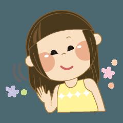可愛い女の子スタンプ☆彡 ≪≪第2弾≫≫
