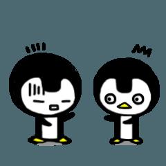 ペンギン模様3
