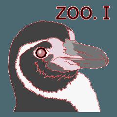 動物スタンプ 【 ZOO.Ⅰ】
