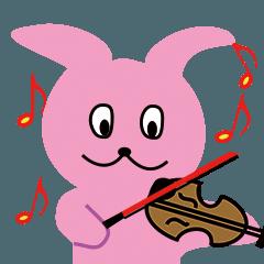 バニぴょん the violinist