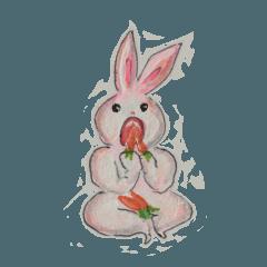 Pink Bunny Lani day