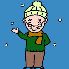 優しいおじいちゃん【冬】