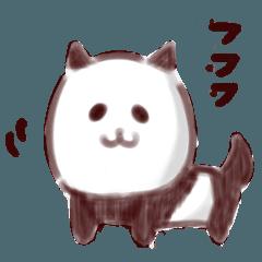 [LINEスタンプ] パンダのような犬のような (1)