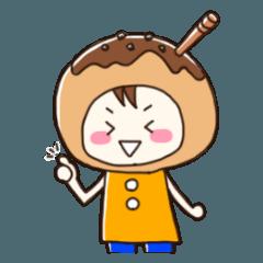 関西弁たこ焼きさんスタンプ